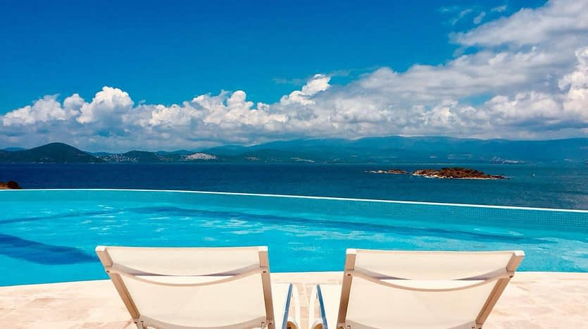 Detached Villa in Bodrum with a sea view5